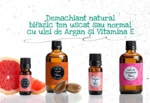 demachiant natural cu argan