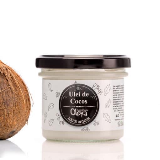 ulei de cocos organic oleya presat la rece