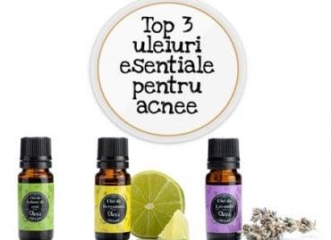 Top 3 uleiuri esențiale pentru acnee