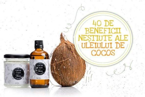 beneficiile uleiului de cocos