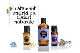 Tratament antirid cu uleiuri naturale