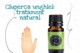 Ciuperca unghiei: tratament natural