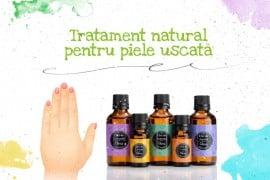 Tratament natural pentru piele uscata