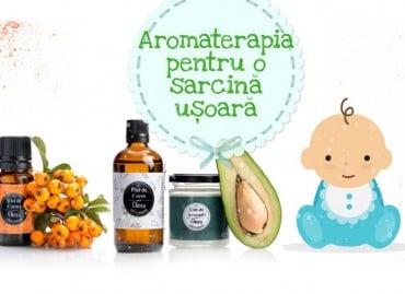 Sarcină ușoară prin Aromaterapie