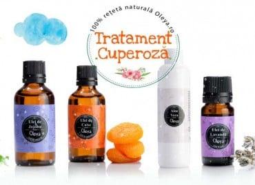 Tratament natural pentru cuperoza cu uleiuri esențiale