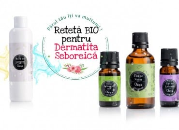Dermatita Seboreica tratament: rețetă BIO* cu uleiuri esențiale