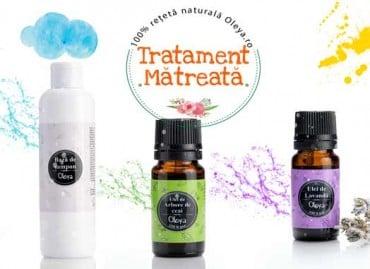 Tratament pentru matreata: Șampon BIO* cu Lavandă și Arbore de Ceai