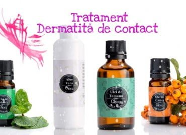 Dermatită de Contact – tratament natural cu Ulei de Tamanu