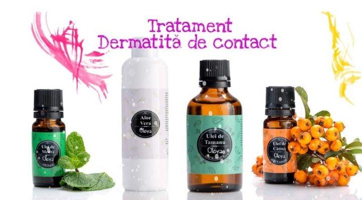 tratament dermatita natural