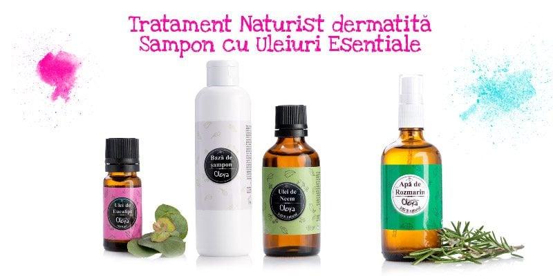 dermatita seboreica sampon tratament naturist