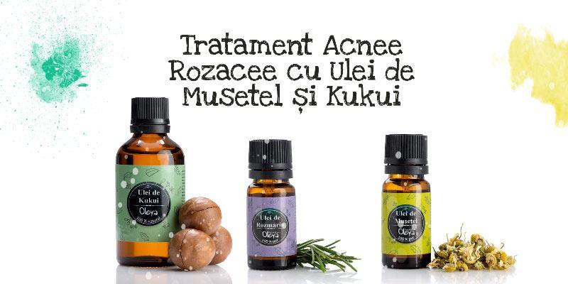 tratament acnee rozacee