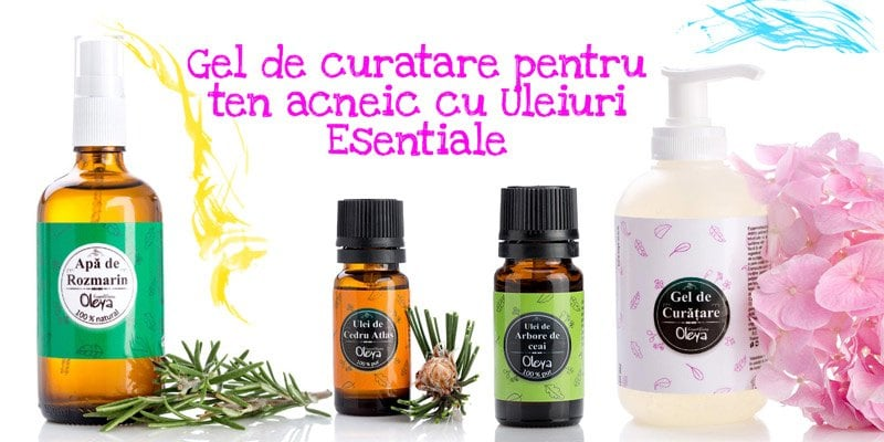 gel de curatare pentru ten acneic si cosuri