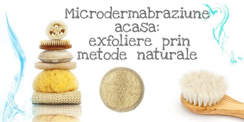 microdermabraziune acasa
