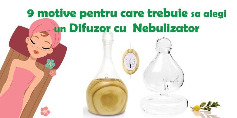 difuzor cu nebulizator oleya