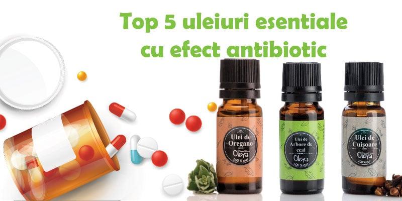 uleiuri esentiale cu efect antibiotic