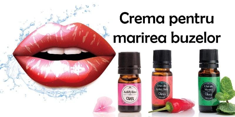 crema pentru marirea buzelor