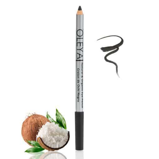 Creion de Ochi Negru cu Ulei de Cocos